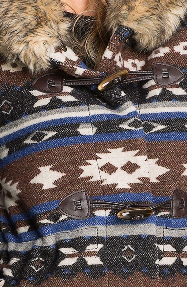 Alternate Image 3  - Buffalo by David Bitton Faux Fur Trim Hooded Anorak