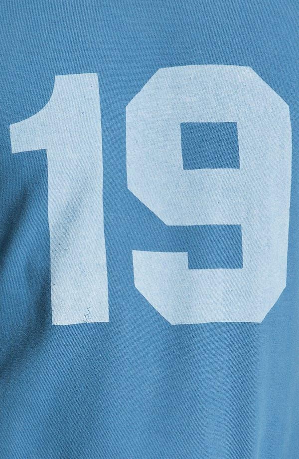 Alternate Image 3  - Red Jacket 'Johnny Unitas - Bulldog' Long Sleeve T-Shirt