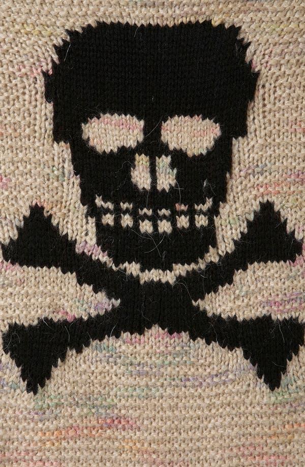 Alternate Image 3  - Topshop 'Skull' Sweater