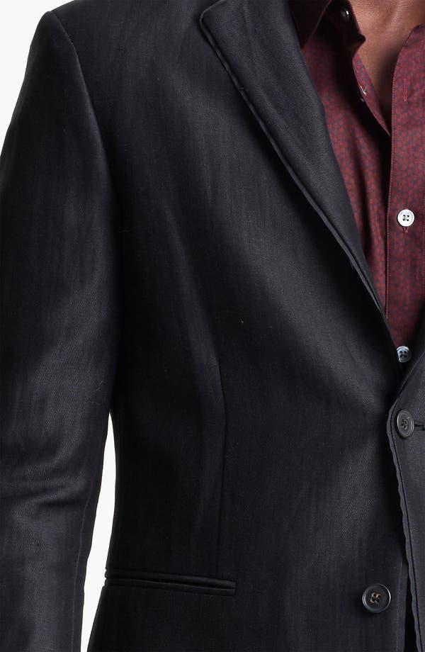 Alternate Image 3  - John Varvatos Collection Linen & Wool Blazer