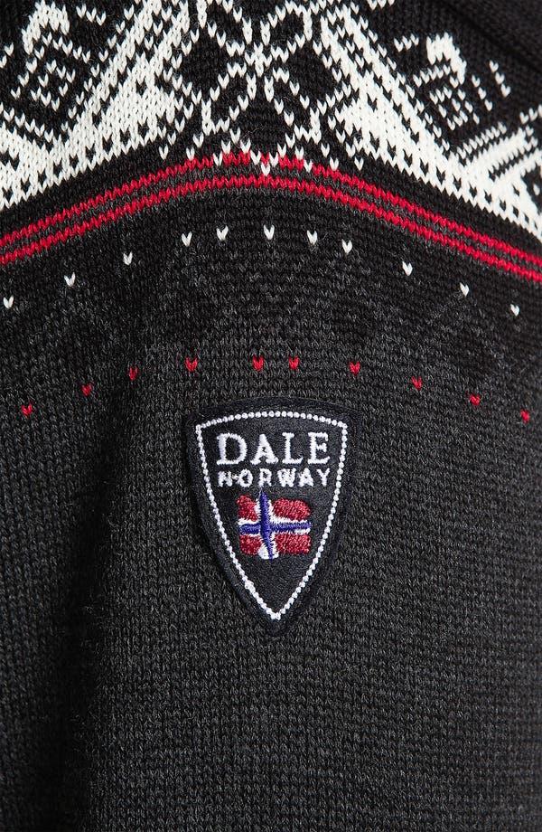 Alternate Image 4  - Dale of Norway 'St Moritz' Quarter Zip Merino Wool Sweater