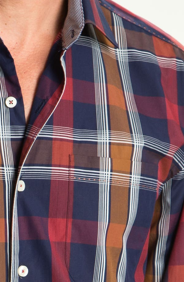 Alternate Image 3  - Tommy Bahama 'Plaid By Night' Sport Shirt