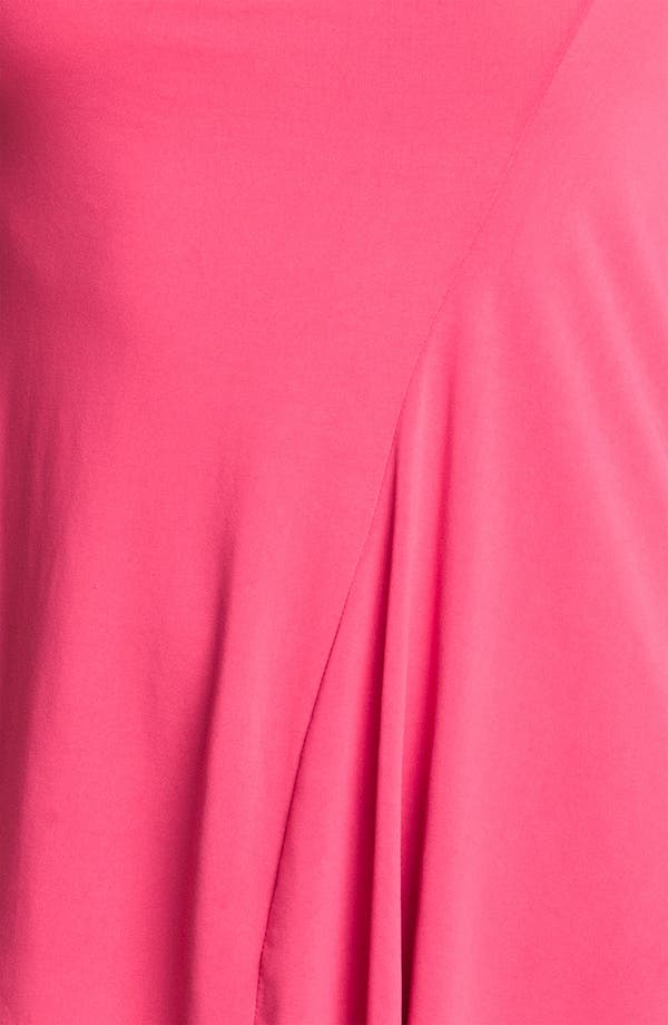 'Bailey' Crepe Jersey Top,                             Alternate thumbnail 3, color,                             Permanent