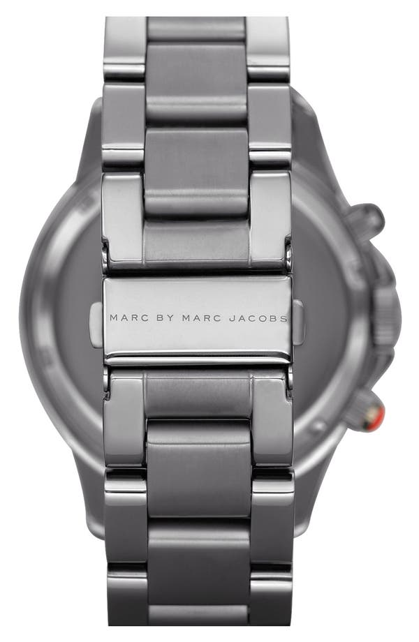 Alternate Image 3  - MARC BY MARC JACOBS 'Rock' Chronograph Bracelet Watch