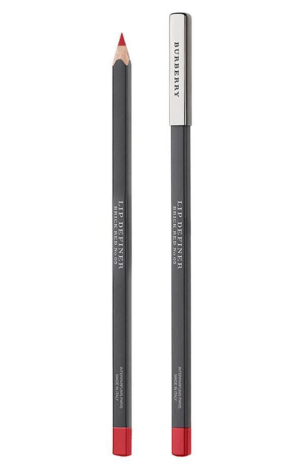 Alternate Image 1 Selected - Burberry Beauty Lip Definer Pencil