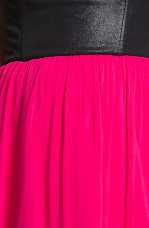 Alternate Image 3  - Ella Moss 'Roslyn' Colorblock Strapless Dress
