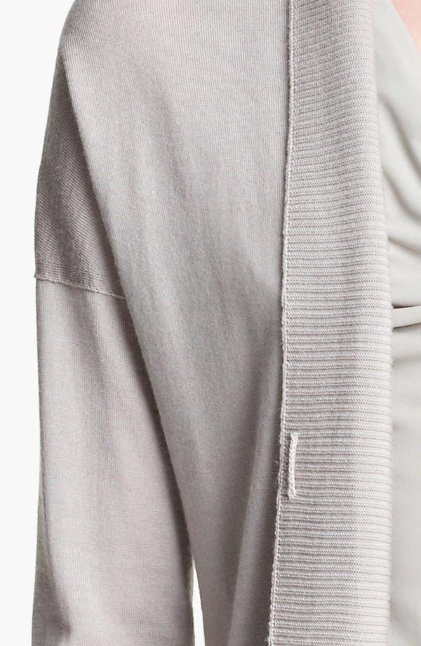 Alternate Image 3  - Armani Collezioni Wool Blend Cardigan