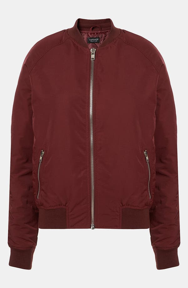 Alternate Image 1 Selected - Topshop 'MA-1' Bomber Jacket