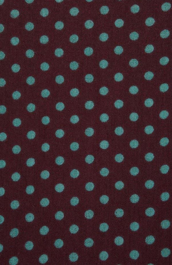 Alternate Image 2  - Topshop 'Factory Girl' Polka Dot Circle Scarf