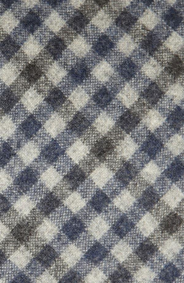 Alternate Image 2  - Samuelsohn Woven Wool & Cashmere Tie
