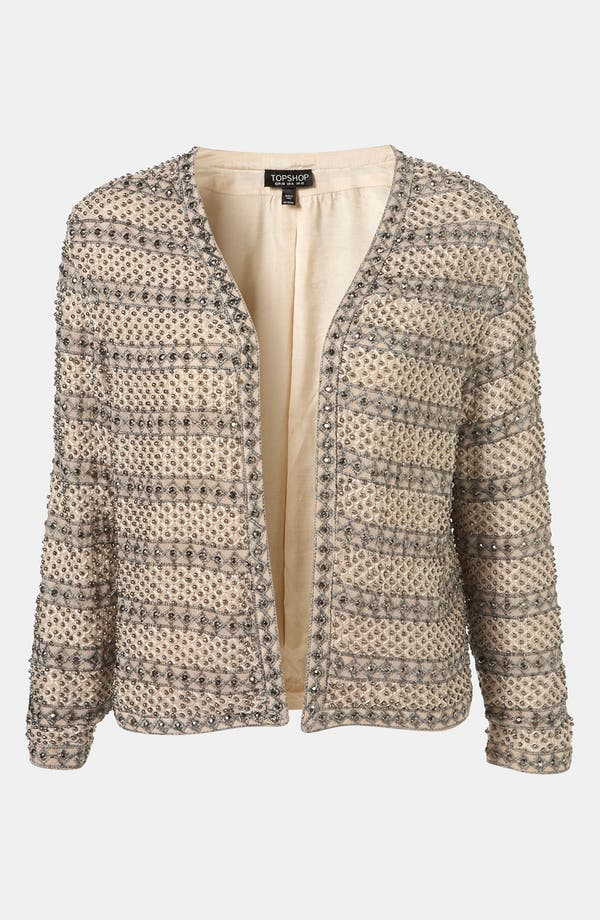 Alternate Image 1 Selected - Topshop Embellished Jacket