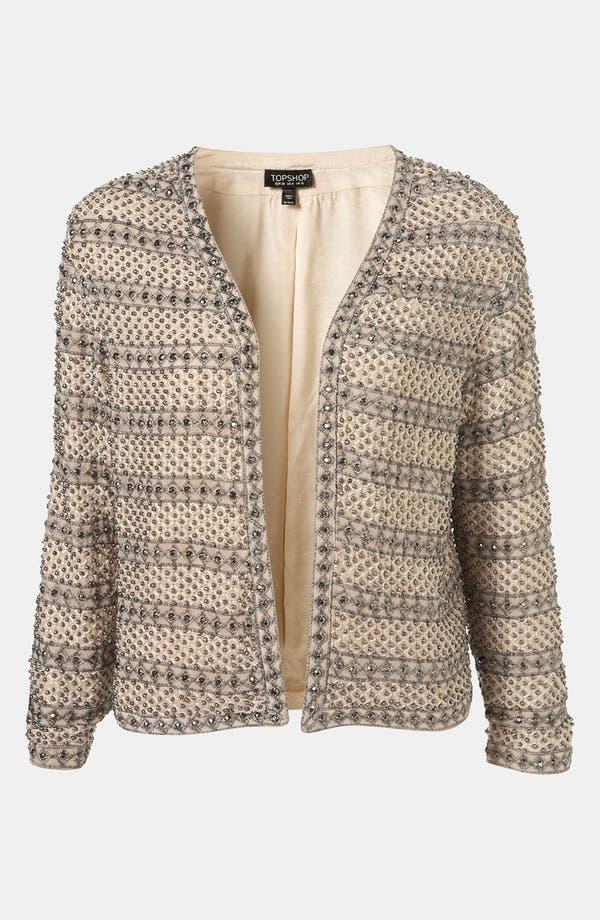 Alternate Image 1 Selected - Topshop Embellished Jacket