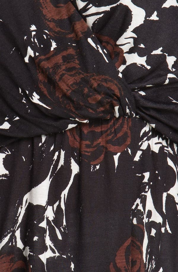 Alternate Image 3  - Tbags Los Angeles Surplice Knit Top (Plus)