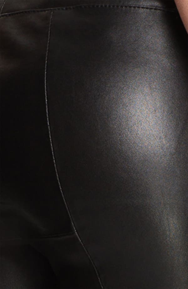 Alternate Image 3  - Elizabeth and James 'Allen' Crop Bootcut Leather Pants