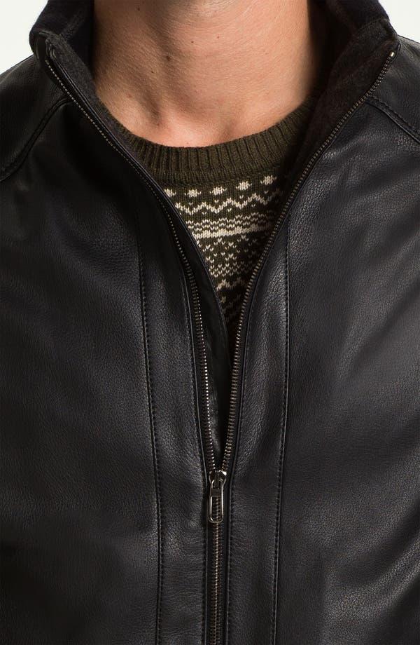 Alternate Image 3  - Gian Franco Pagini Leather Jacket