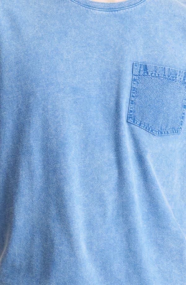Alternate Image 3  - Topman Washed Cotton Pocket T-Shirt