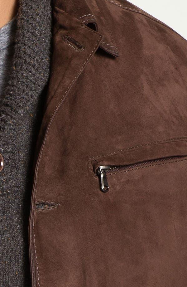 Alternate Image 3  - Gimo Goatskin Suede Jacket
