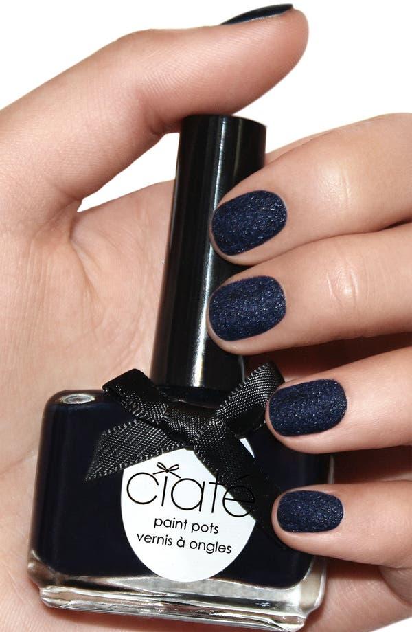Alternate Image 2  - Ciaté 'Velvet Manicure - Blue Suede' Set