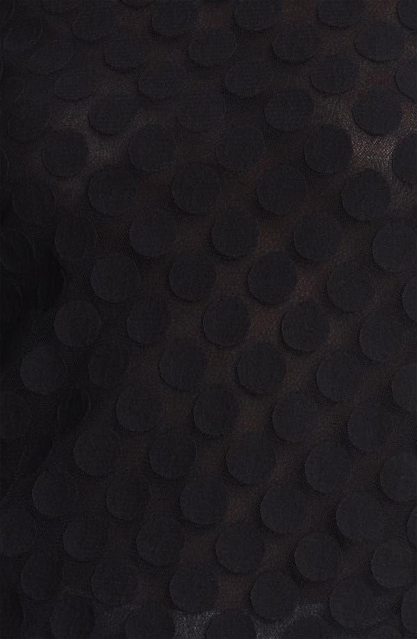 Alternate Image 3  - Jean Paul Gaultier Fuzzi Polka Dot Tulle Tee