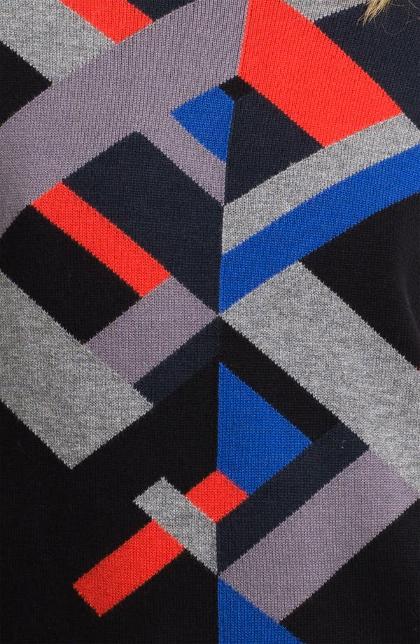 Alternate Image 3  - Trouvé Geo Knit Sweater