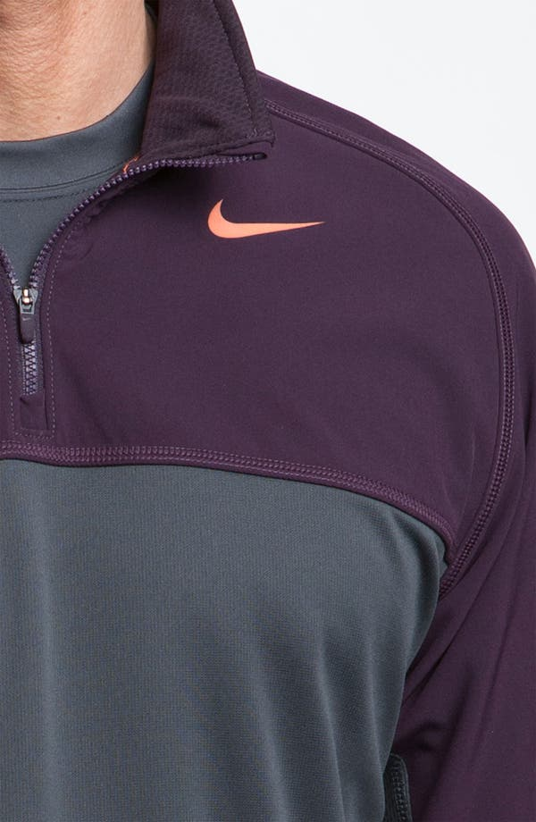 Alternate Image 2  - Nike 'Shield' Therma-FIT Fleece Quarter Zip Top