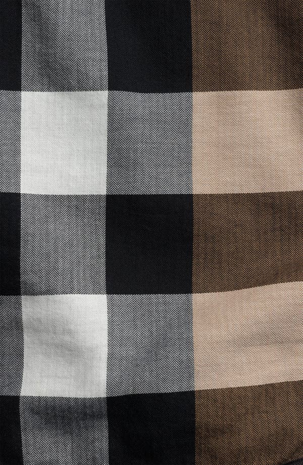 Alternate Image 4  - Burberry Brit Wool Blend Field Jacket
