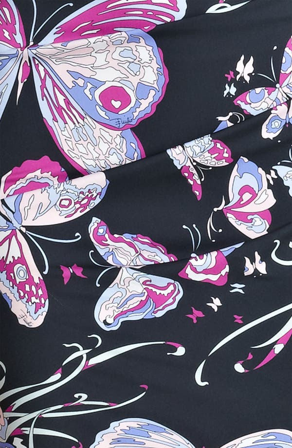 Alternate Image 3  - Emilio Pucci Ruched Double Stretch Georgette Dress
