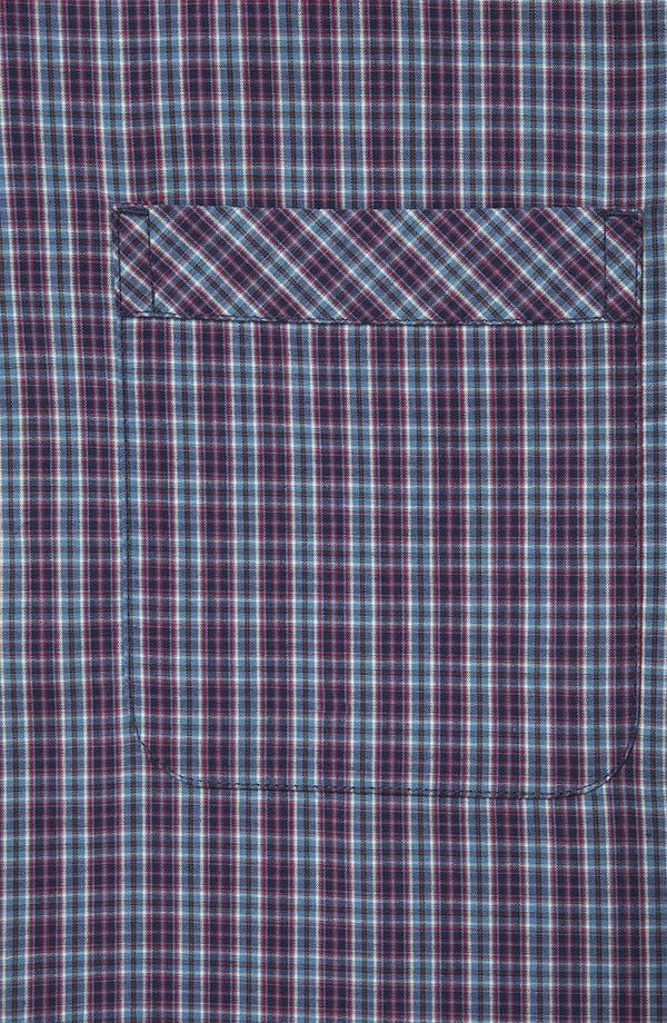 Alternate Image 3  - Topman Extra Trim Tartan Check Shirt