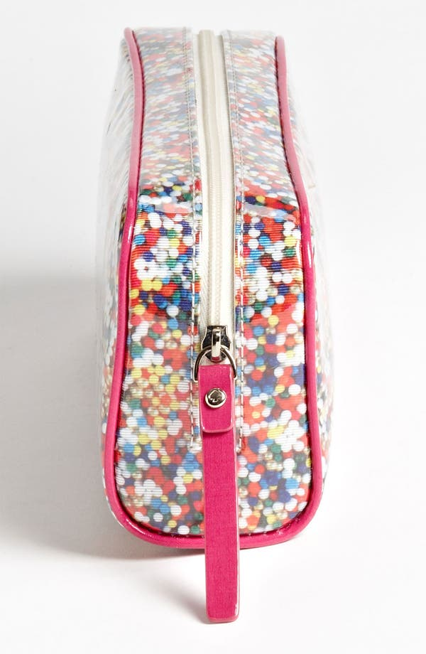 Alternate Image 2  - kate spade new york 'sprinkles - small henrietta' cosmetics case