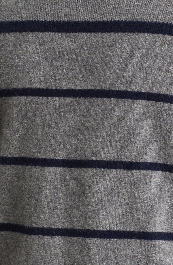 Alternate Image 3  - Façonnable Cashmere Turtleneck Sweater