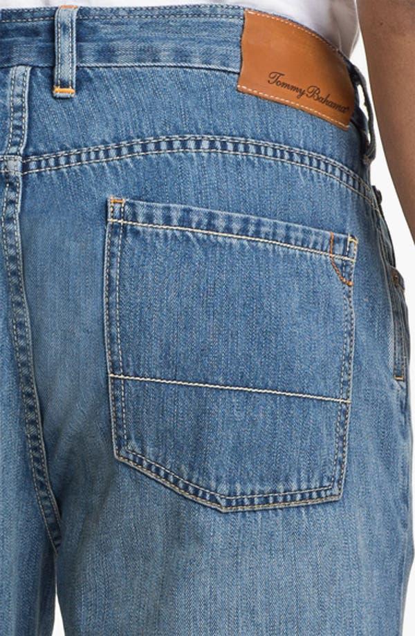 Alternate Image 4  - Tommy Bahama Denim 'Coastal Island Ease' Straight Leg Jeans (Light)
