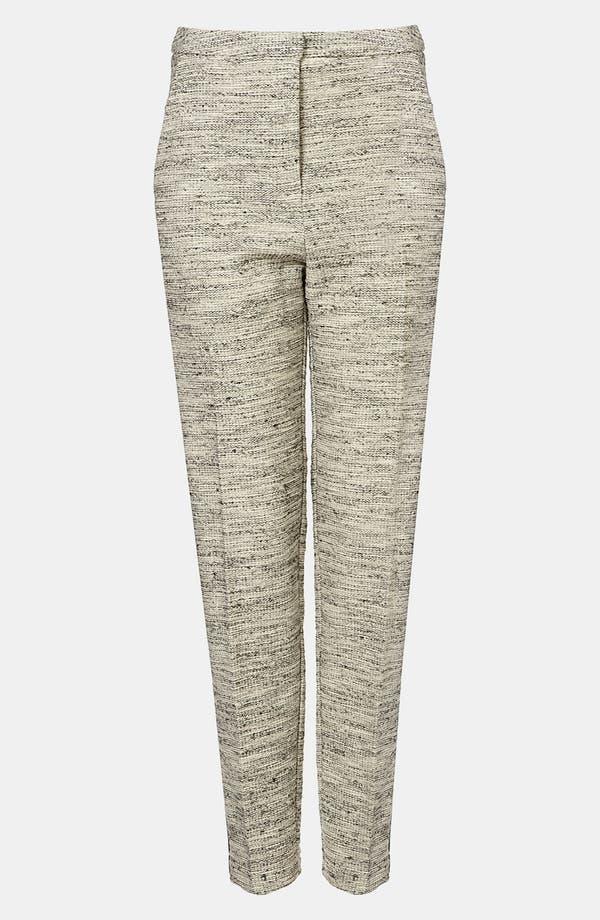 Alternate Image 1 Selected - Topshop Tweedy Tux Pants