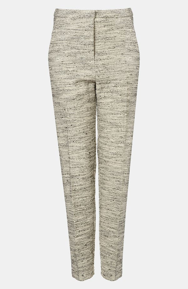 Main Image - Topshop Tweedy Tux Pants