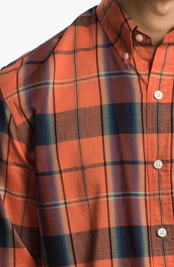 Alternate Image 3  - Vince Bright Plaid Woven Shirt