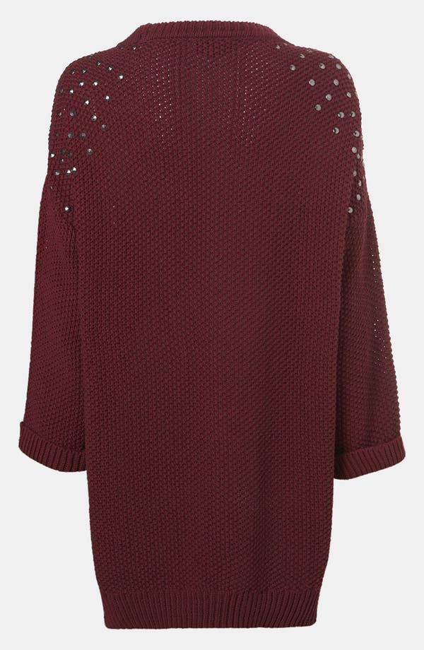 Alternate Image 3  - Topshop 'Grunge' Studded Maternity Sweater