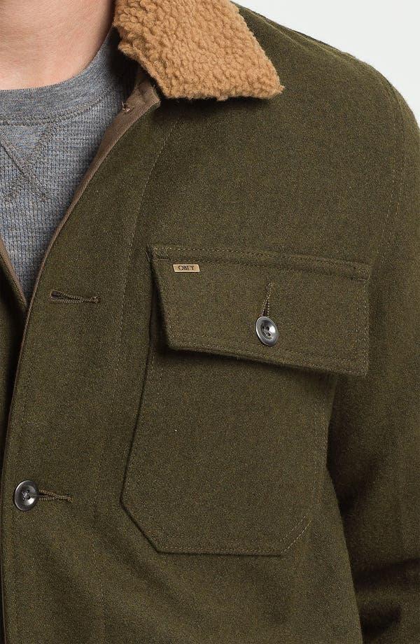 Alternate Image 3  - Obey 'Winston' Wool Workwear Jacket