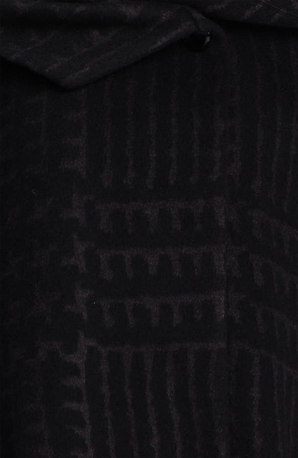 Alternate Image 3  - Cinzia Rocca Patterned Wool Blend Coat