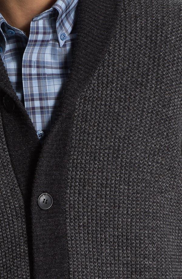Alternate Image 3  - Lora Gi Shawl Collar Wool Cardigan