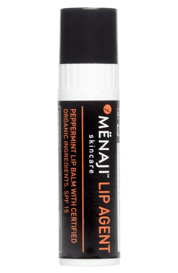 Alternate Image 1 Selected - Mënaji Skincare for Men 'Lip Agent' Lip Balm SPF 15