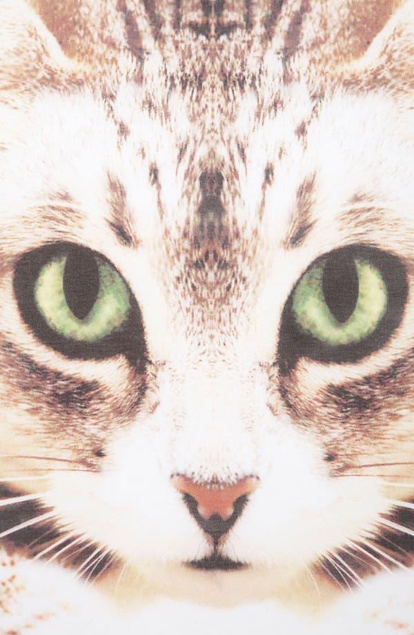 Alternate Image 3  - Topshop Cat Photo Tee (Petite)