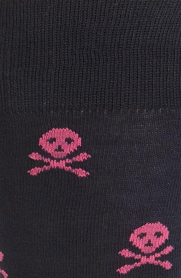 Alternate Image 2  - Lorenzo Uomo 'Skull' Socks