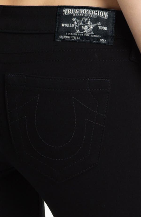 Alternate Image 3  - True Religion Brand Jeans 'Stella' Stretch Ponte Knit Pants