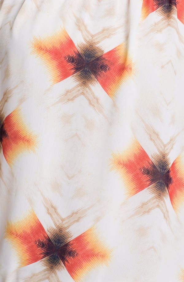 Alternate Image 3  - Vince Camuto 'Feathered Geo' Peasant Blouse