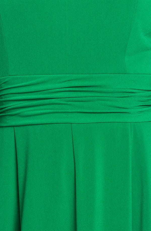 Alternate Image 3  - Donna Ricco Cutout Detail Jersey Fit & Flare Dress