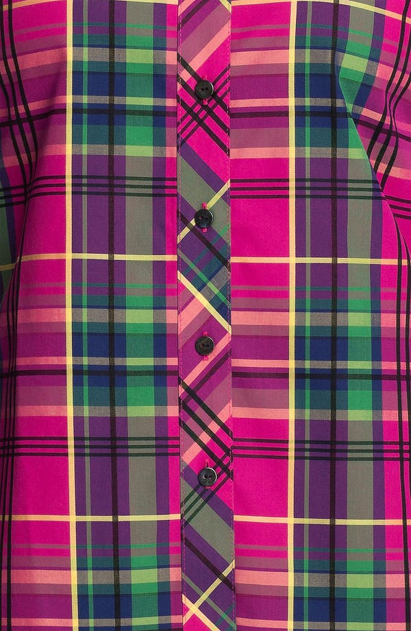 Alternate Image 3  - Foxcroft 'Holiday Tartan' Shirt