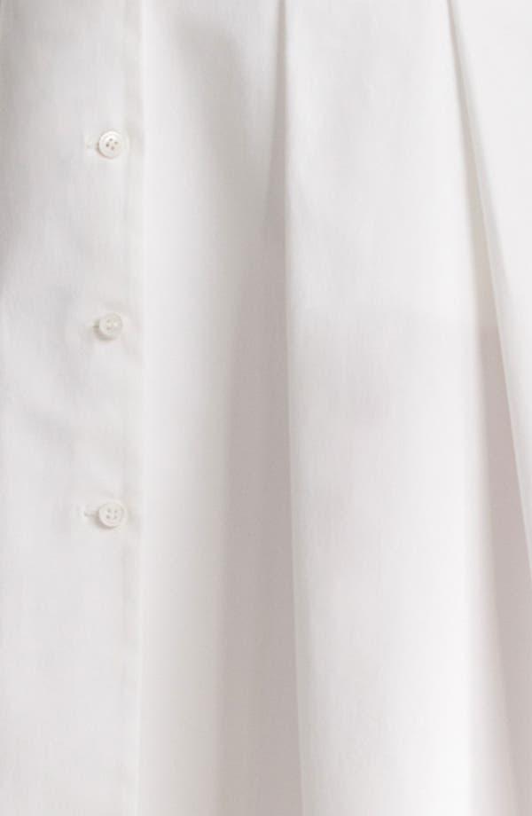 Alternate Image 5  - Jil Sander Navy Black Trim Stretch Cotton Dress