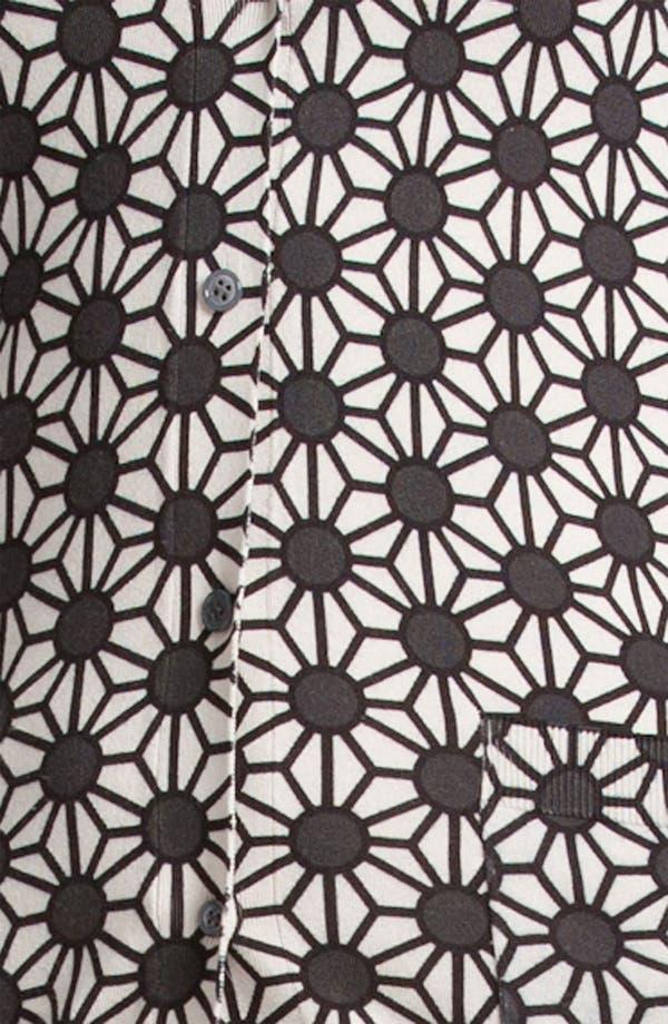 Alternate Image 5  - Jil Sander Navy Geometric Print Cardigan