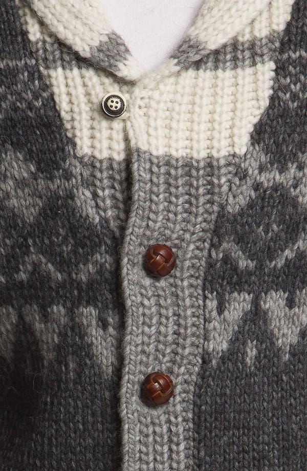 Alternate Image 3  - Woolrich John Rich 'Trapper Peak' Shawl Collar Cardigan