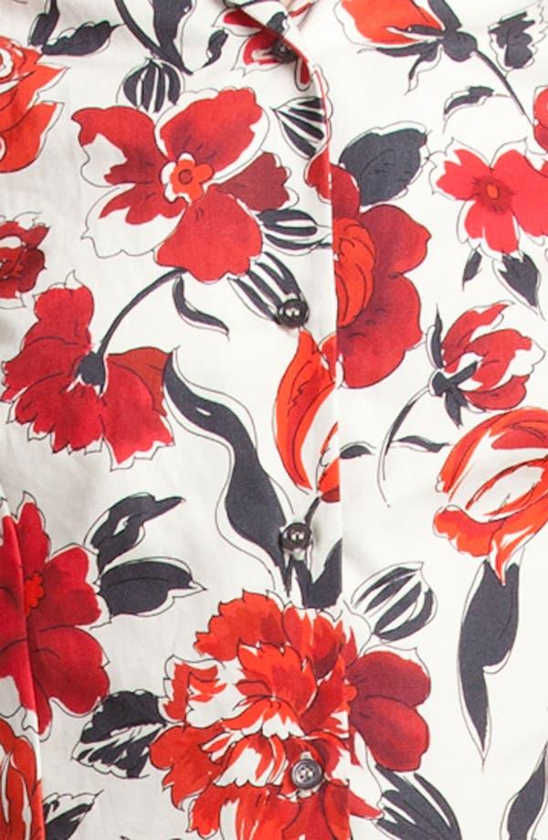Alternate Image 3  - Jil Sander Navy Garden Print Shirtdress