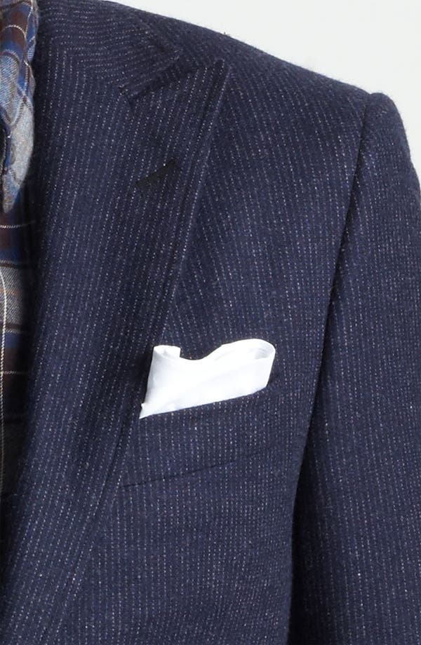 Alternate Image 6  - Billy Reid 'Campbell - Heirloom Collection' Chalk Stripe Wool Suit
